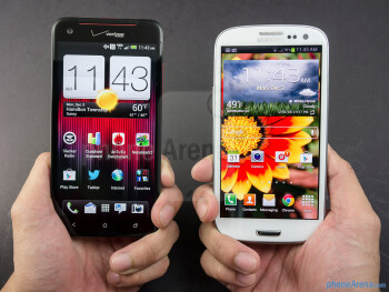 HTC DROID DNA vs Samsung Galaxy S III