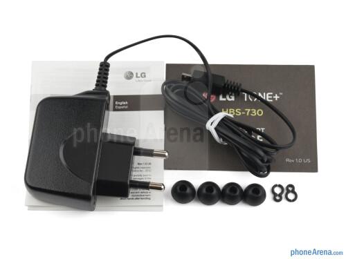 LG TONE+ Bluetooth headset