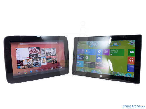 Google Nexus 10 vs Microsoft Surface RT
