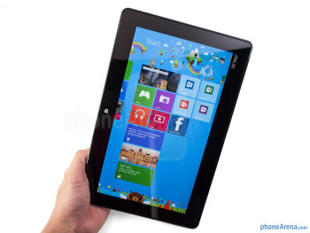 The Asus VivoTab RT maintains one very clean appearance - Asus VivoTab RT Review