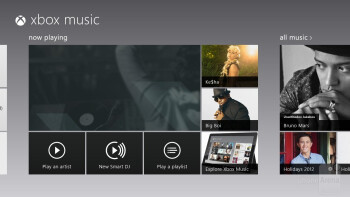 Music player - Asus VivoTab RT Review