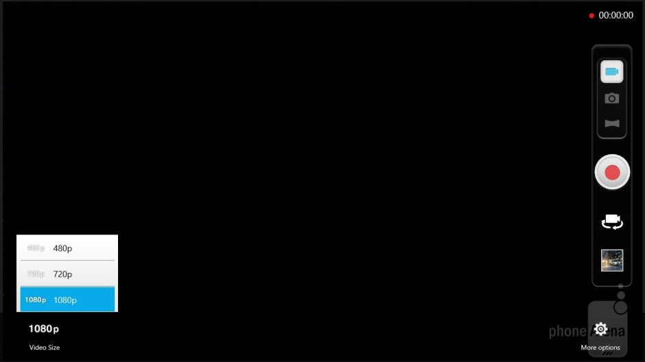 Camera interface - Asus VivoTab RT Review