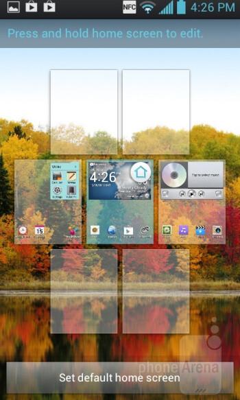 The LG Mach runs the Opimus 3.0 UI - LG Mach Review