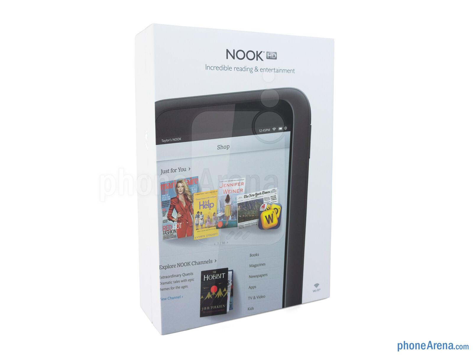 Barnes Noble NOOK HD Review