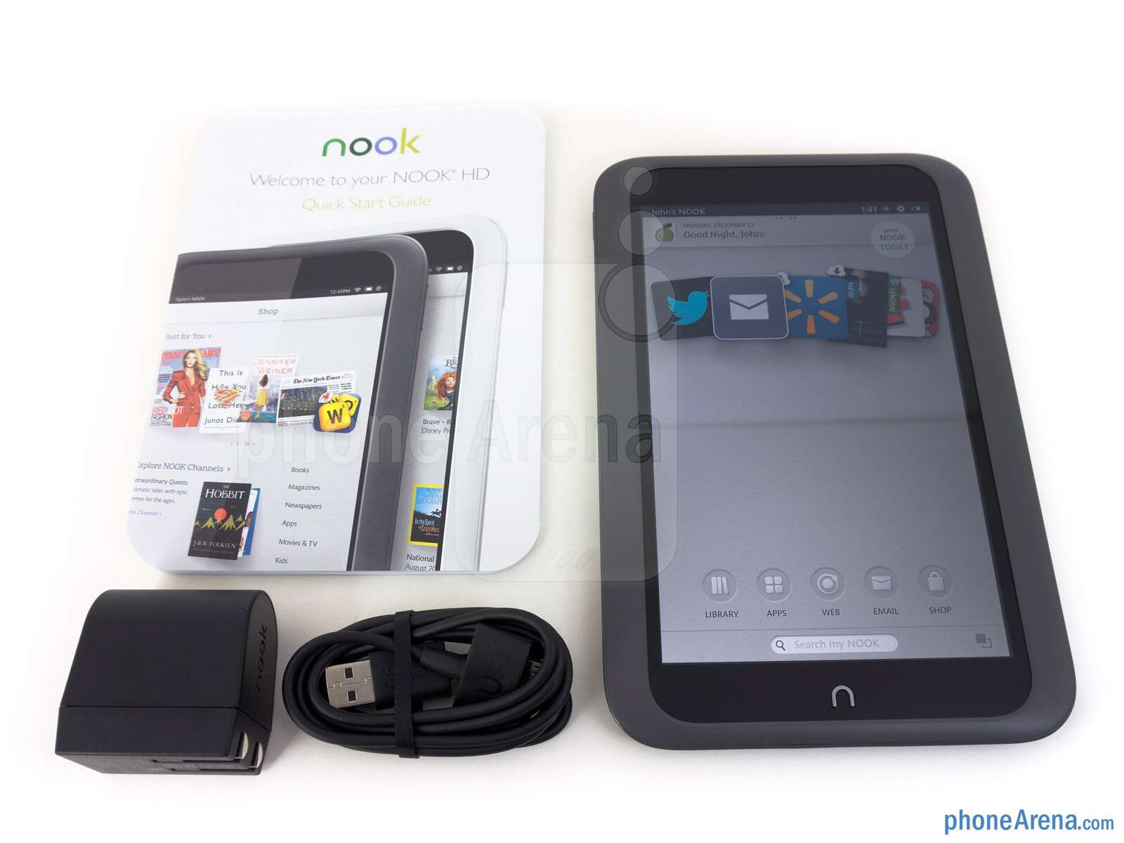 image from Barnes Noble NOOK HD Review