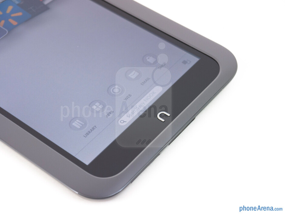 """The physical """"n"""" button - Barnes & Noble NOOK HD Review"""