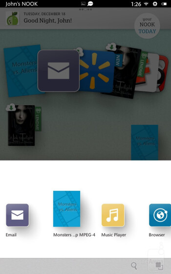The Barnes & Noble NOOK HD is running a heavily customized interface on top of Android 4.0 - Barnes & Noble NOOK HD Review