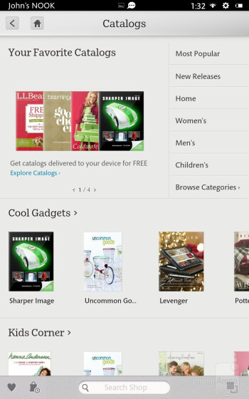 Multimedia collection - Barnes & Noble NOOK HD Review