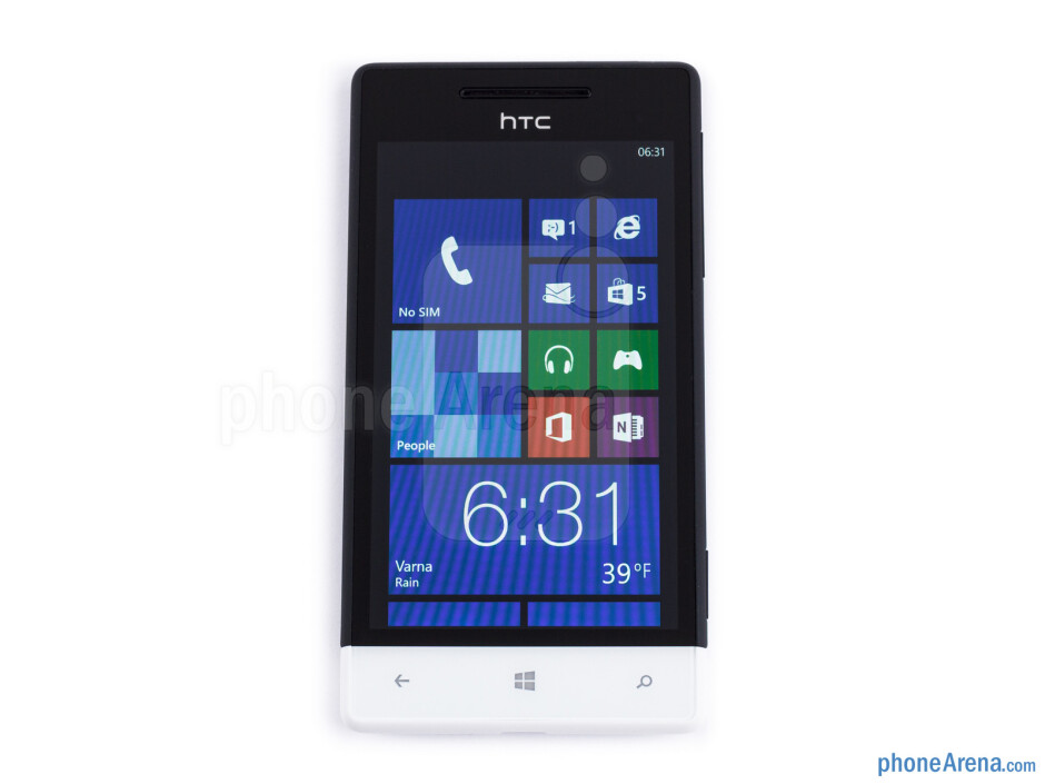 The bottom panel cap is removable - HTC Windows Phone 8S Review
