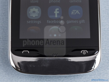 Physical buttons - Nokia Asha 309 Review