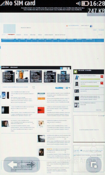 Web browser 1.0 of the Nokia Asha 309 - Nokia Asha 309 Review