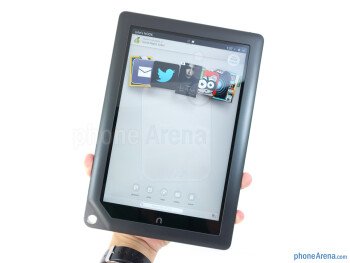 The Barnes & Noble NOOK HD+ utilizes an all-plastic construction - Barnes & Noble NOOK HD+ Review