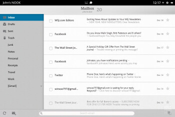 Email - Barnes & Noble NOOK HD+ Review