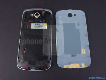 Battery compartment - HTC One VX Review