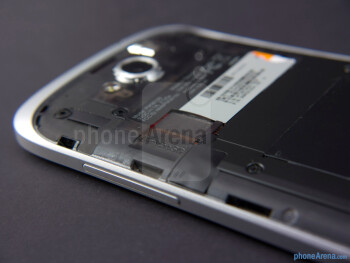 microSD card slot - HTC One VX Review