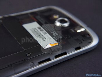 microSIMcard slot - HTC One VX Review