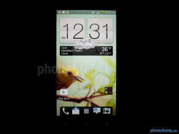 Viewing angles of the HTC One VX - HTC One VX Review