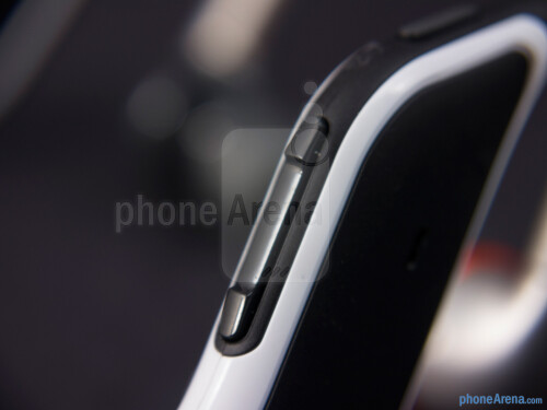 Physical buttons of the Motorola S11-FLEX HD
