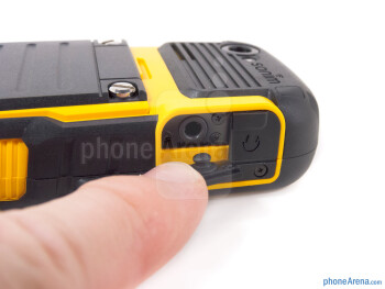 3.5mm jack protective cover - Sonim XP Strike Review