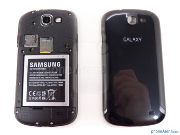 Battery compartment - Samsung Galaxy Express Review