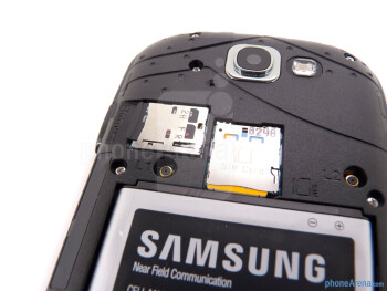 SIM and microSD card slots - Samsung Galaxy Express Review