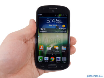 The Galaxy Express is another one of those signature Samsung designs - Samsung Galaxy Express Review