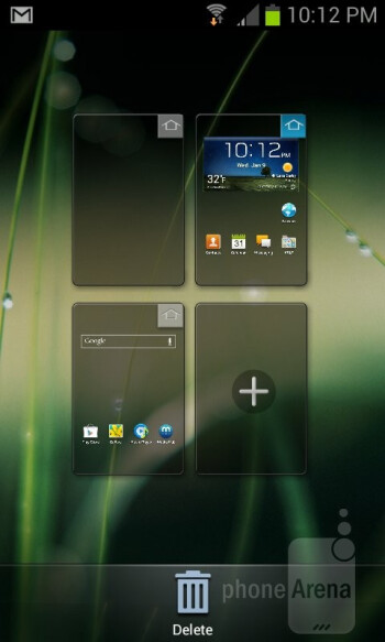 Interface of the Samsung Galaxy Express - Samsung Galaxy Express Review