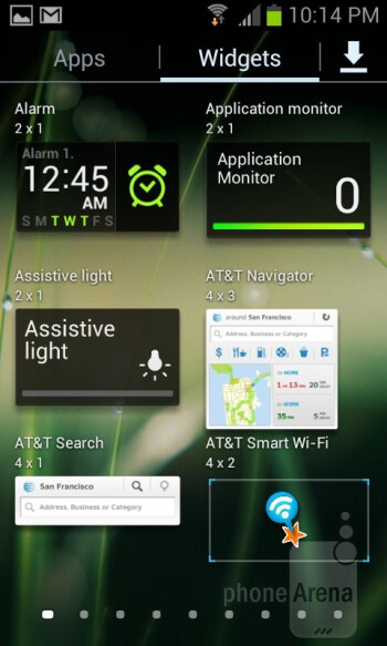 Interface of the Samsung Galaxy Express - Samsung Galaxy Express Review