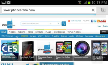 Web browsing with the Samsung Galaxy Express - Samsung Galaxy Express Review