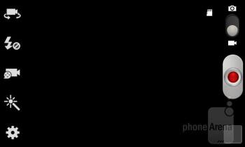 Camera interface - Samsung Galaxy Express Review