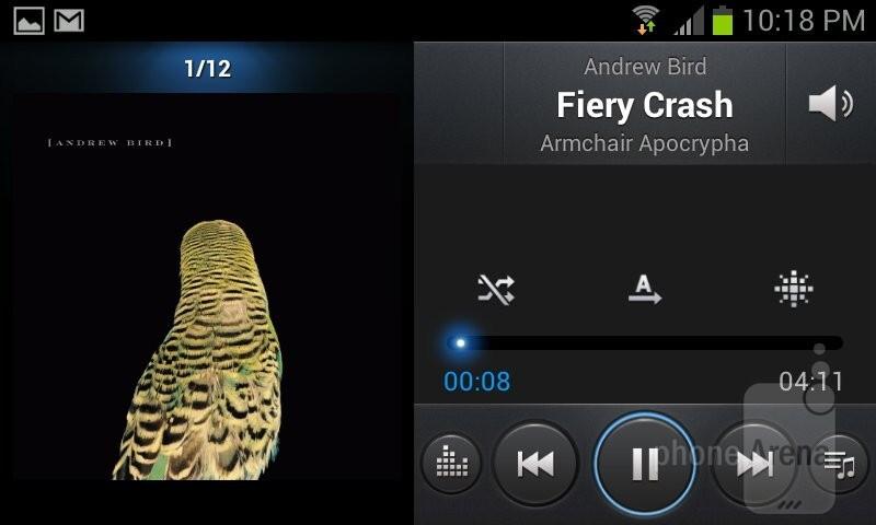 Music player - Samsung Galaxy Express Review