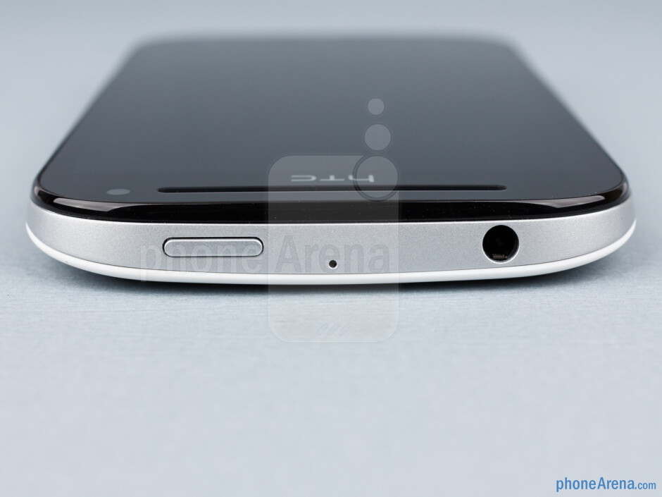3.5mm jack and power key (top) - HTC One SV Review