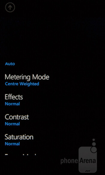 Camera interface of the Nokia Lumia 510 - Nokia Lumia 510 Review