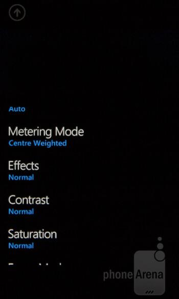 Camera interface of the Nokia Lumia 510 - Nokia Lumia 510 Review