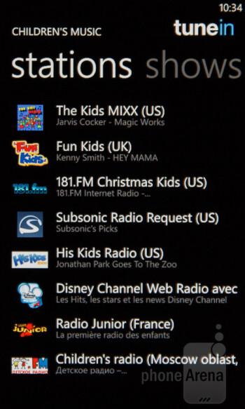TuneIn Radio - Nokia Lumia 510 Review