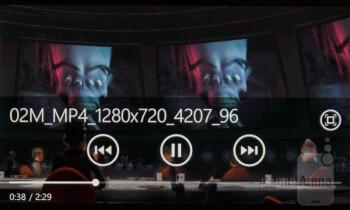 Music player of the Nokia Lumia 510 - Nokia Lumia 510 Review