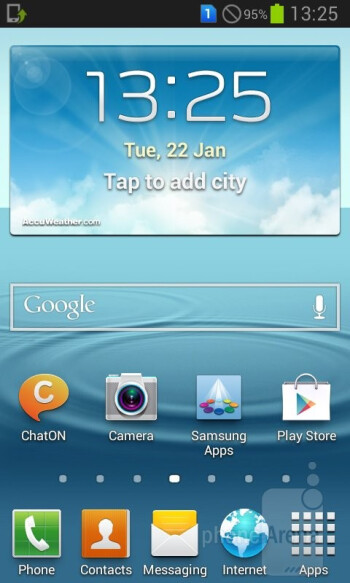Interface of the Samsung Galaxy Grand Duos - Samsung Galaxy Grand Duos Preview