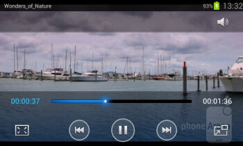 Video player - Samsung Galaxy Grand Duos Preview