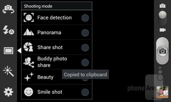 Camera interface - Samsung Galaxy Grand Duos Preview