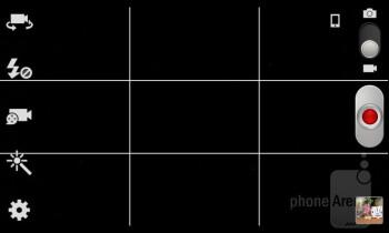 Camera interface - Samsung Galaxy Grand Duos Preview