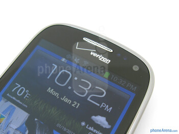 Front camera - Samsung Galaxy Stratosphere II Review