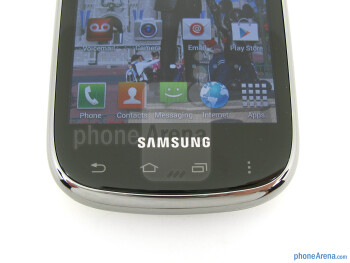 Touch sensitive buttons - Samsung Galaxy Stratosphere II Review