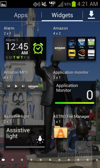 The Samsung Galaxy Stratosphere II is presented with Android 4.0.4 Ice Cream Sandwich - Samsung Galaxy Stratosphere II Review