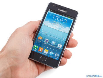 The Galaxy S II Plus exhibits the rectangular design of its predecessor - Samsung Galaxy S II Plus Preview