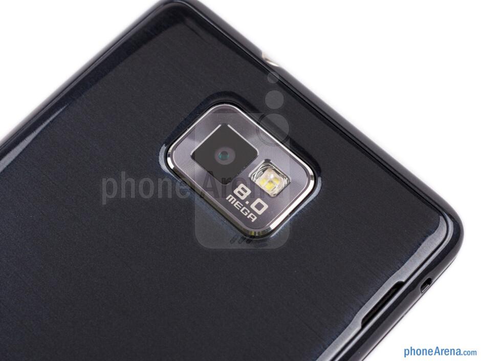 Rear camera - Samsung Galaxy S II Plus Preview