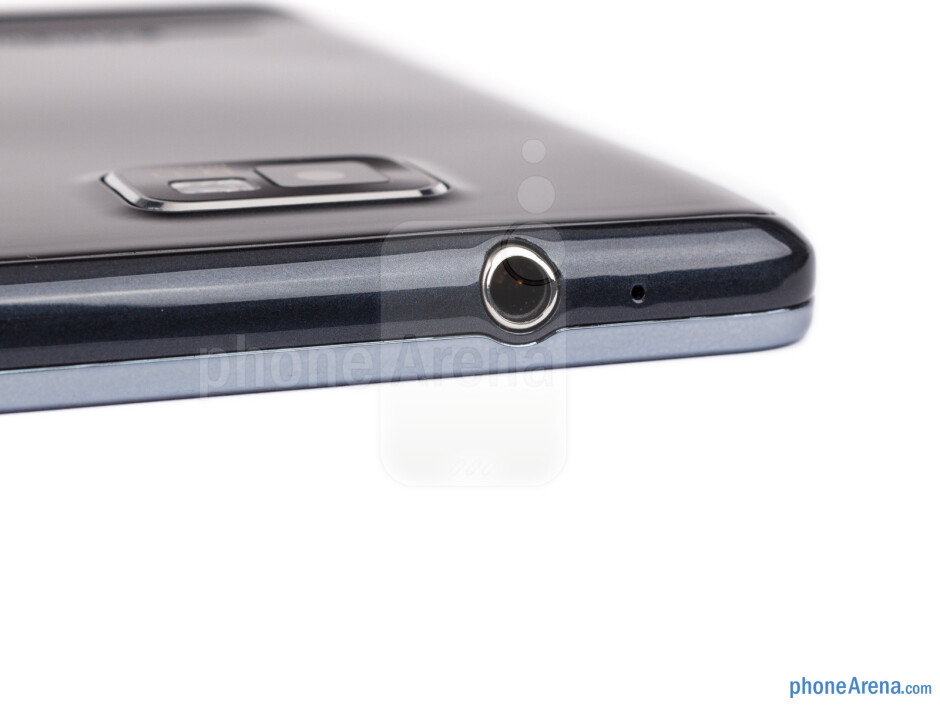 3.5mm jack (top) - The sides of the Samsung Galaxy S II Plus - Samsung Galaxy S II Plus Preview