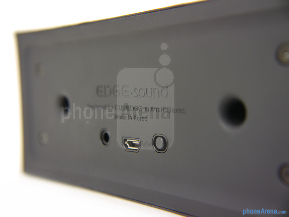 The rear of the EDGE.sound - EDGE.sound Review