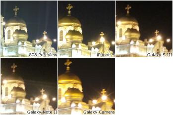 100% Crops - Camera Comparison: Samsung Galaxy Camera vs Galaxy S III, Galaxy Note II, iPhone 5, Nokia 808 PureView