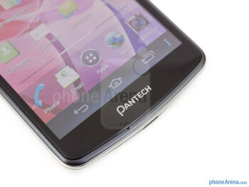 On-screen Android buttons - Pantech Discover Review