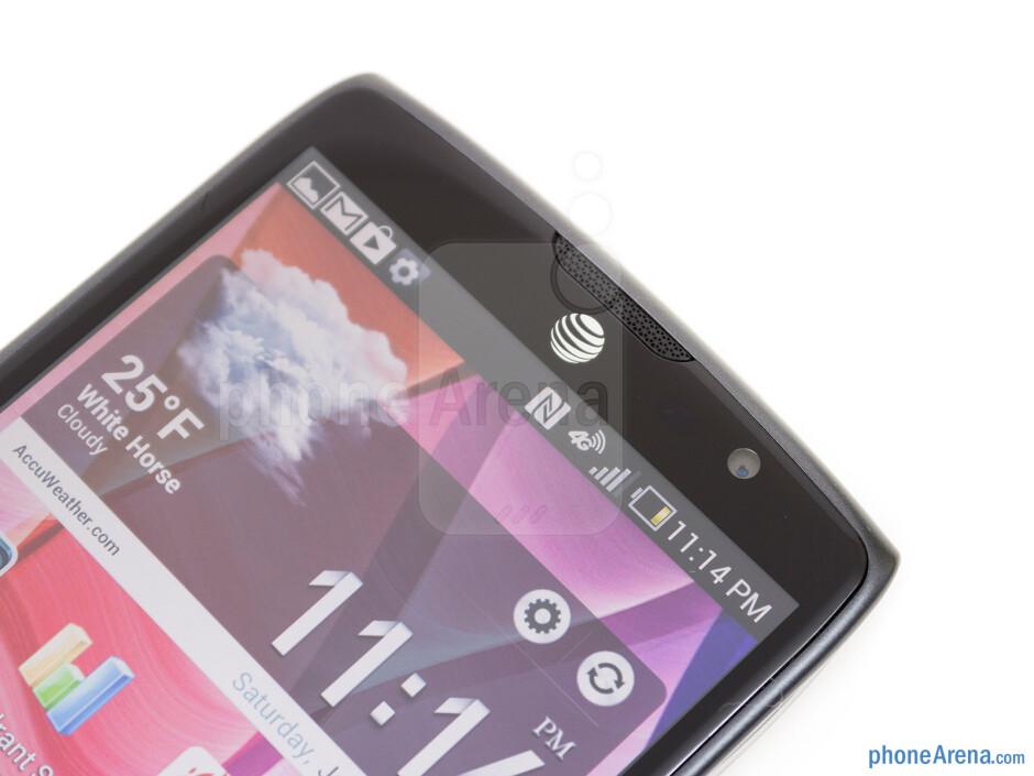 Front camera - Pantech Discover Review